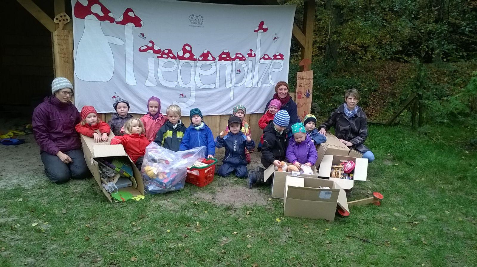 Aktionen aus 2015 – Waldkindergarten Aurich e.V.